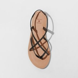 Women's Cami Braided Thong Sandals Size 10
